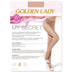 My Secret 20 Classic Tights for women - Golden Lady
