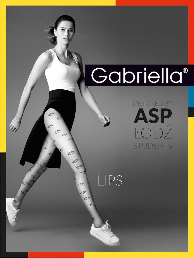 f4719ab67 Exclusive fancy tights for young women. Patterned Polish tights .