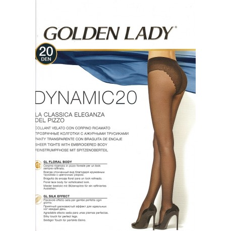 Rajstopy Dynamic 20 den - Golden Lady