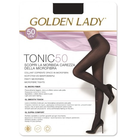 Rajstopy Tonic 50 den - Golden Lady