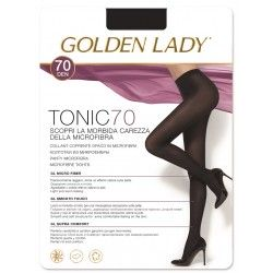 Rajstopy Tonic 70 den - Golden Lady